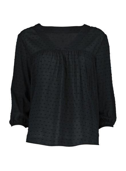 dames top zwart zwart - 1000013595 - HEMA