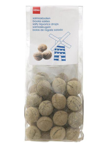 oudhollandse salmiakbollen 150 gram - 10500010 - HEMA