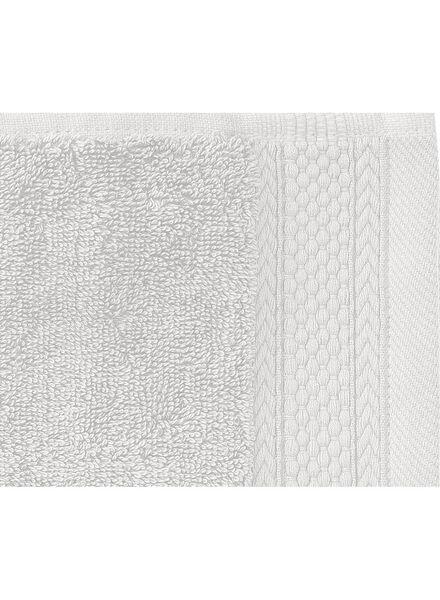 handdoek - 60 x 110 cm - hotel extra zwaar - lichtgrijs uni - 5240199 - HEMA