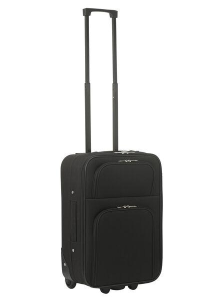 koffer - 55 x 35 x 20 - zwart - 18600251 - HEMA