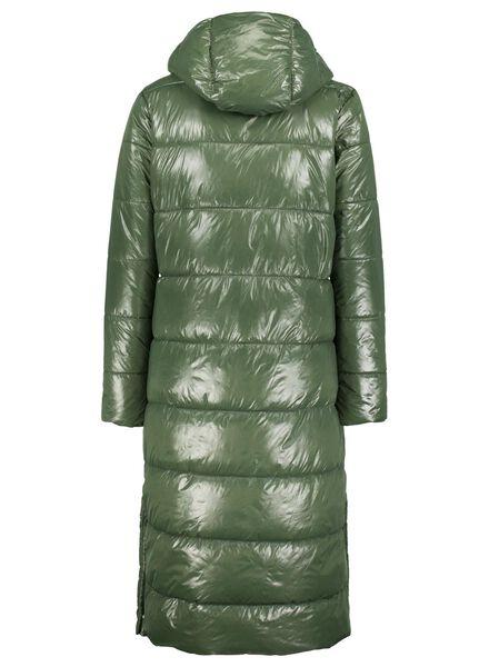damesjas gewatteerd groen groen - 1000015669 - HEMA