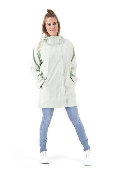 dames regenjas - waterproof lichtgroen lichtgroen - 1000020239 - HEMA