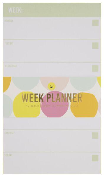Weekplanner 21x12