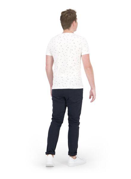 heren t-shirt wit wit - 1000014687 - HEMA