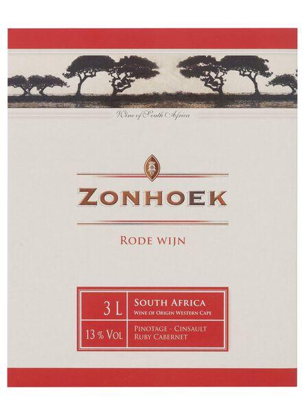 zonhoek bag-in-box zuid-afrika rood - 3L - 17362320 - HEMA