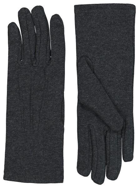 dameshandschoenen grijs S/M - 16460181 - HEMA