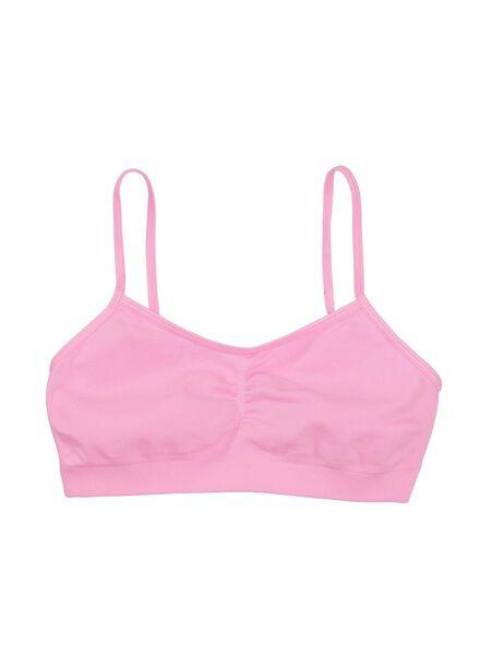 kinder softtop naadloos roze roze - 1000008540 - HEMA