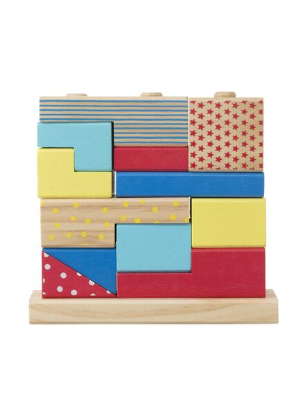 houten stapelpuzzel - 15110278 - HEMA