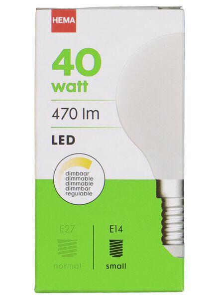 LED lamp 40W - 470 lm - kogel - mat - 20020034 - HEMA