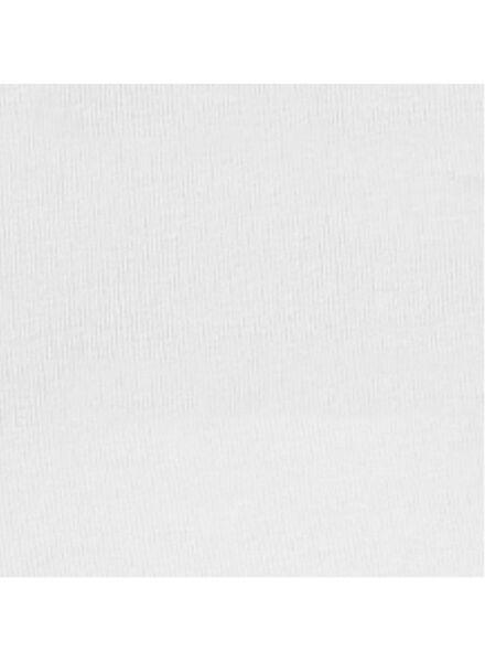 dameslegging - biologisch katoen wit wit - 1000004946 - HEMA