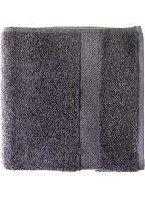 baddoek zware kwaliteit 70 x 140 - donker grijs - 5214602 - HEMA