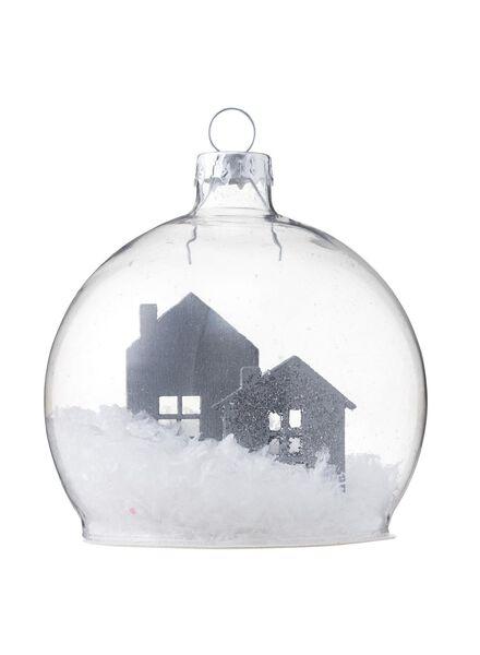 glazen kerstbal - 25101715 - HEMA