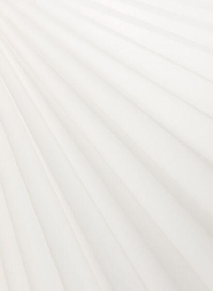 plisségordijn uni transparant 20 mm - 7430031 - HEMA