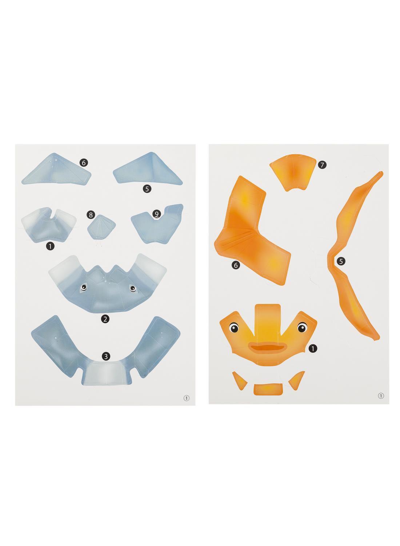 HEMA 2-pak 3D-puzzels