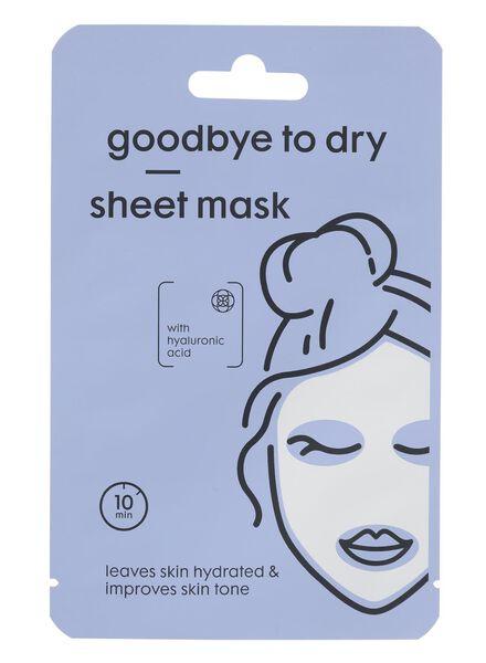 sheetmasker goodbye to dry - 17860205 - HEMA
