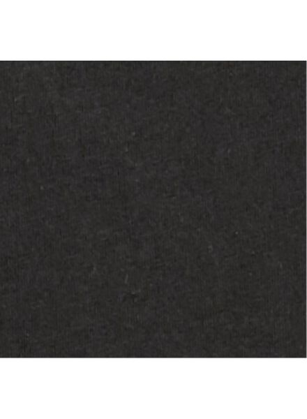 2-pak heren t-shirts zwart zwart - 1000009971 - HEMA