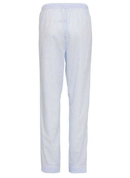 dames pyjamabroek lichtblauw lichtblauw - 1000008761 - HEMA