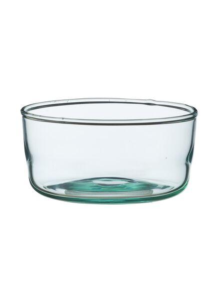 schaal - 10 cm - Bergen - blauw glas - 9680033 - HEMA