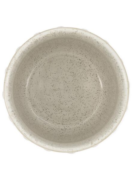 bloempot Ø 13 cm - keramiek - wit - 13392082 - HEMA