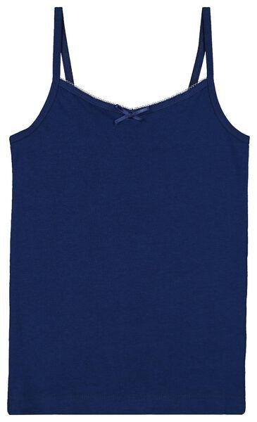 2-pak kinderhemden blauw blauw - 1000018391 - HEMA