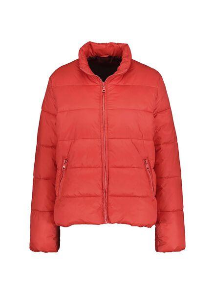 dames donsjack rood rood - 1000014739 - HEMA