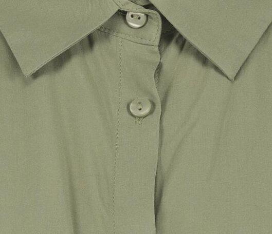 damesblouse olijf olijf - 1000019896 - HEMA