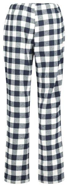 damespyjama donkerblauw donkerblauw - 1000020264 - HEMA
