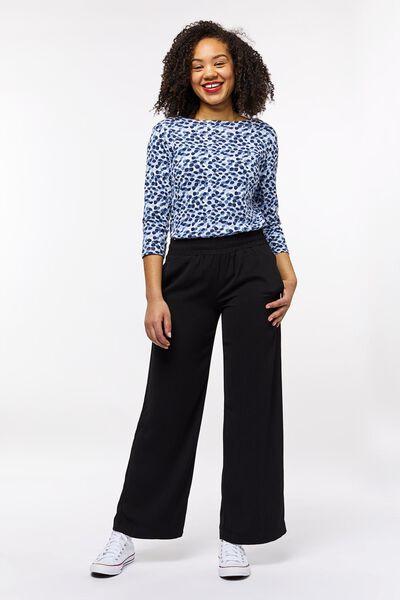 dames t-shirt stip boothals multi multi - 1000023512 - HEMA
