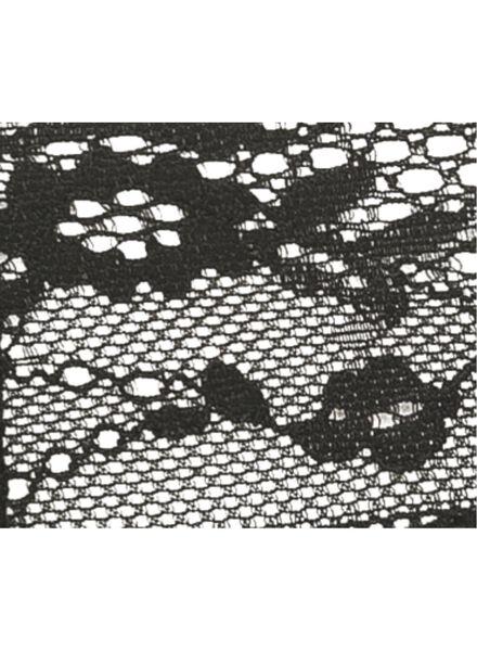 damesstring zwart zwart - 1000002315 - HEMA