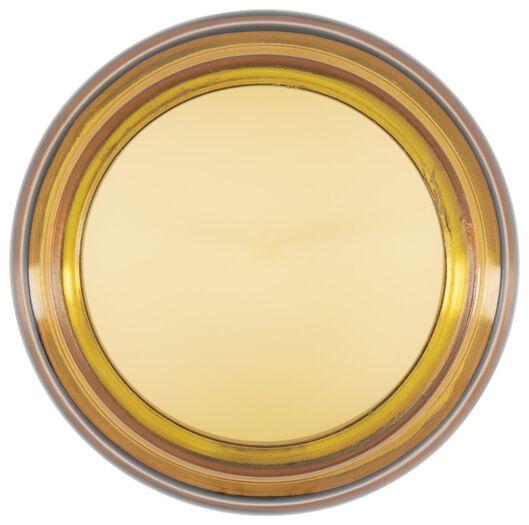 geurkaars in glazen pot Ø10x14 linen - 13502521 - HEMA