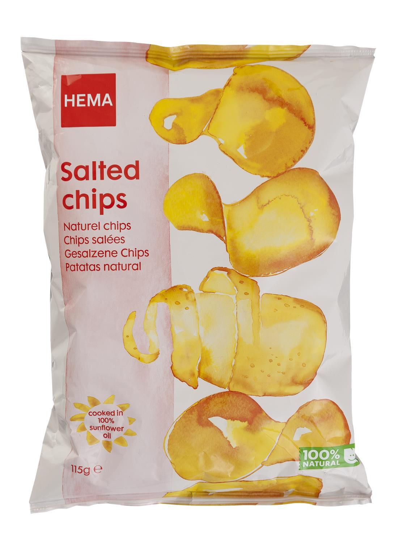 HEMA Chips Naturel