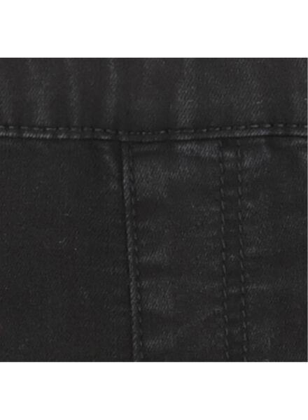 kindertregging zwart zwart - 1000016970 - HEMA