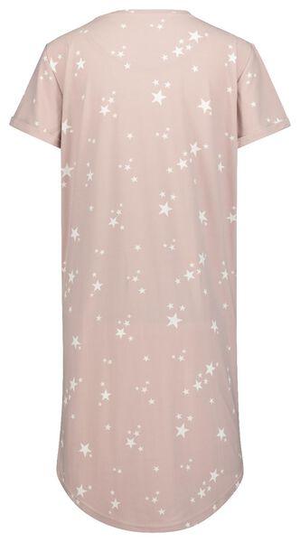 damesnachthemd micro roze - 1000020327 - HEMA