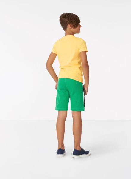kinder t-shirt geel geel - 1000013666 - HEMA