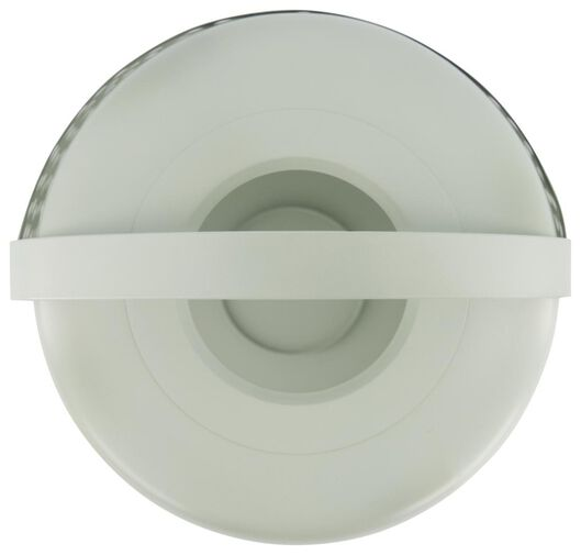 windlicht Ø20x38 metaal groen - 41810289 - HEMA