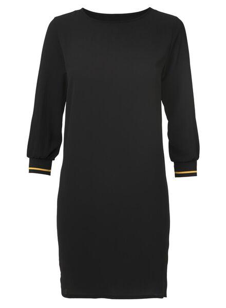damesjurk zwart zwart - 1000011584 - HEMA