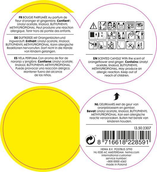 geurkaars in glas spice - 13502307 - HEMA