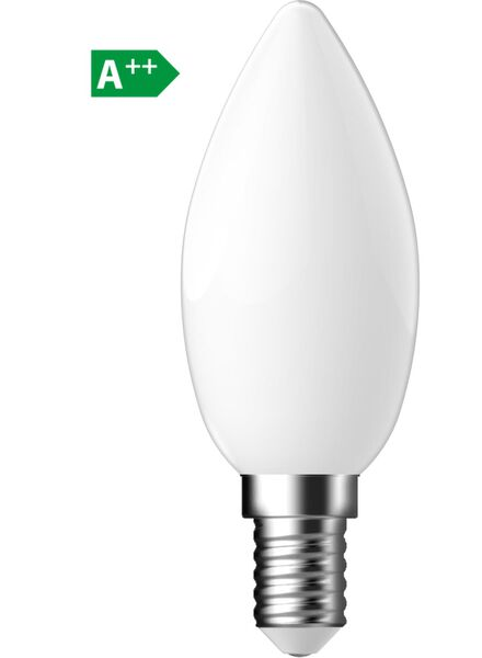 LED matte kaarslamp 4,4 watt - kleine fitting - 470 lumen - 20090055 - HEMA