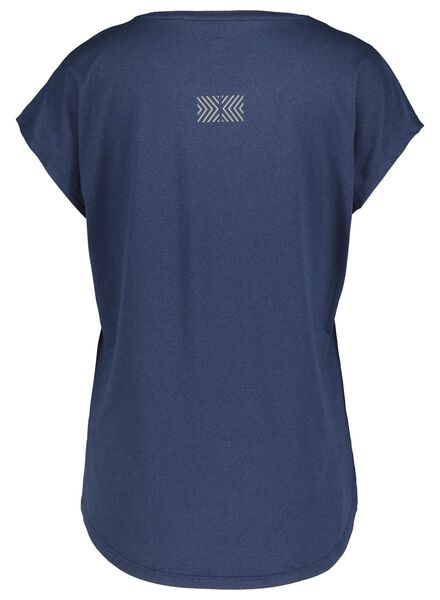 dames sportshirt blauw blauw - 1000017333 - HEMA