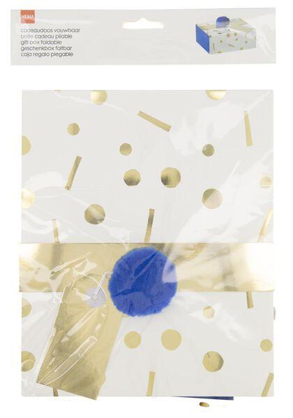 cadeaudoos 15x18x7 - confetti - 14700408 - HEMA