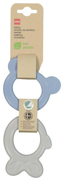 bijtringen bioplastic - 2 stuks - 33502250 - HEMA