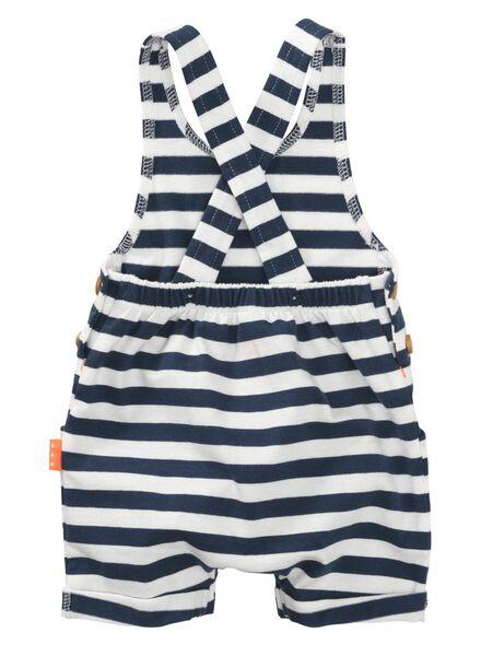 newborn jumpsuit donkerblauw donkerblauw - 1000008061 - HEMA