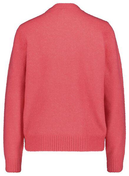 damestrui gebreid roze roze - 1000018291 - HEMA