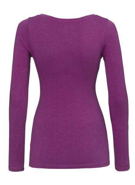 dames t-shirt fuchsia fuchsia - 1000005156 - HEMA