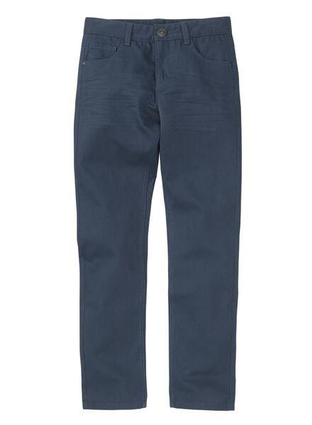 kinderbroek donkerblauw donkerblauw - 1000008211 - HEMA