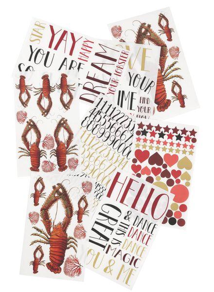 decoratie stickers - 60100448 - HEMA