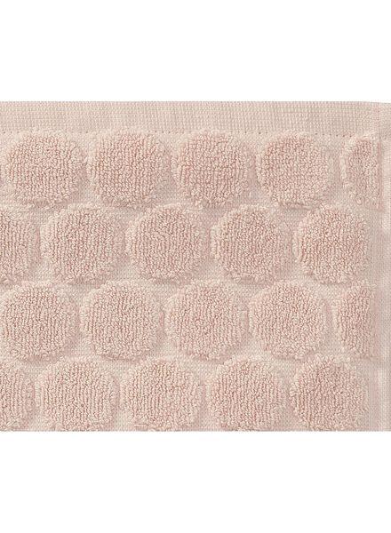 handdoek zware kwaliteit 70 x 140 - roze - 5240190 - HEMA