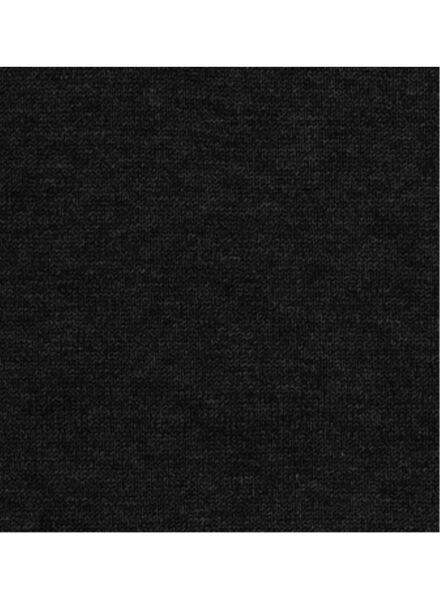 herentrui zwart zwart - 1000005855 - HEMA