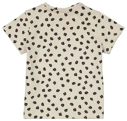 baby t-shirt luipaard gebroken wit gebroken wit - 1000023879 - HEMA