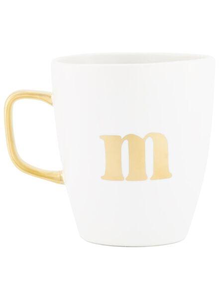 mok letter m wit M - 60030062 - HEMA